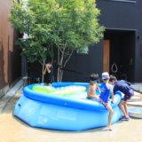 大人も楽しめる!INTEXインテックスの家庭用大型プール〜気になる水道代と満水までの時間