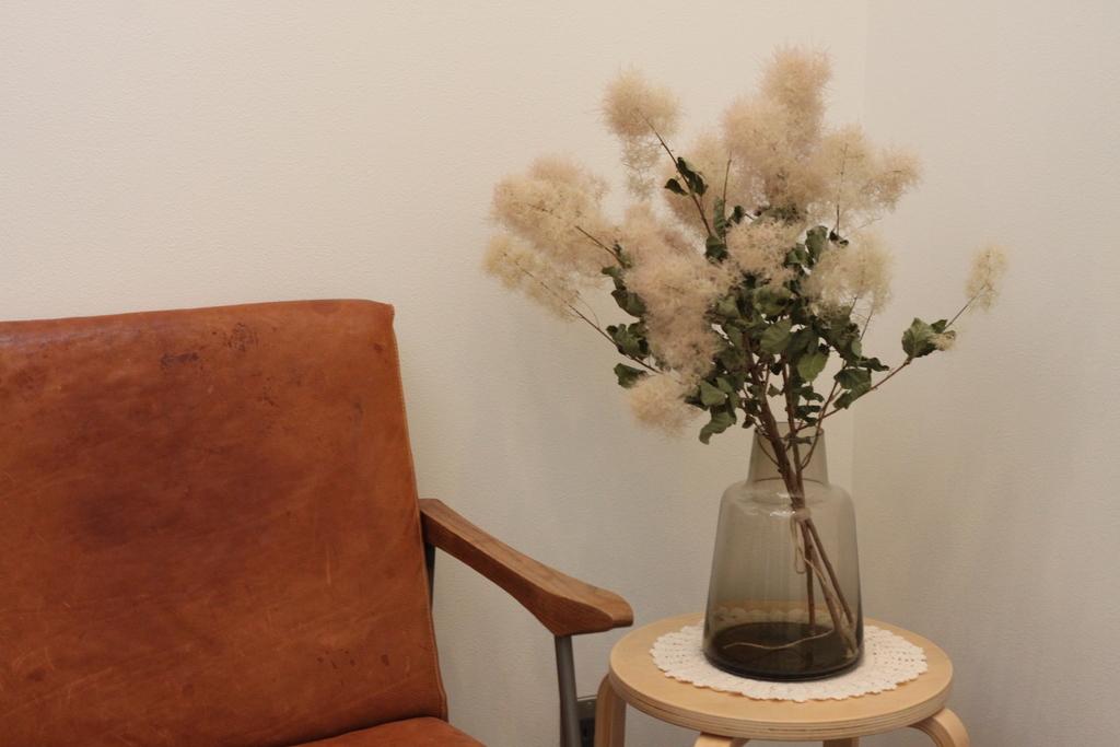 土間にドライスモークツリーを/Holmegaard Flora ベース