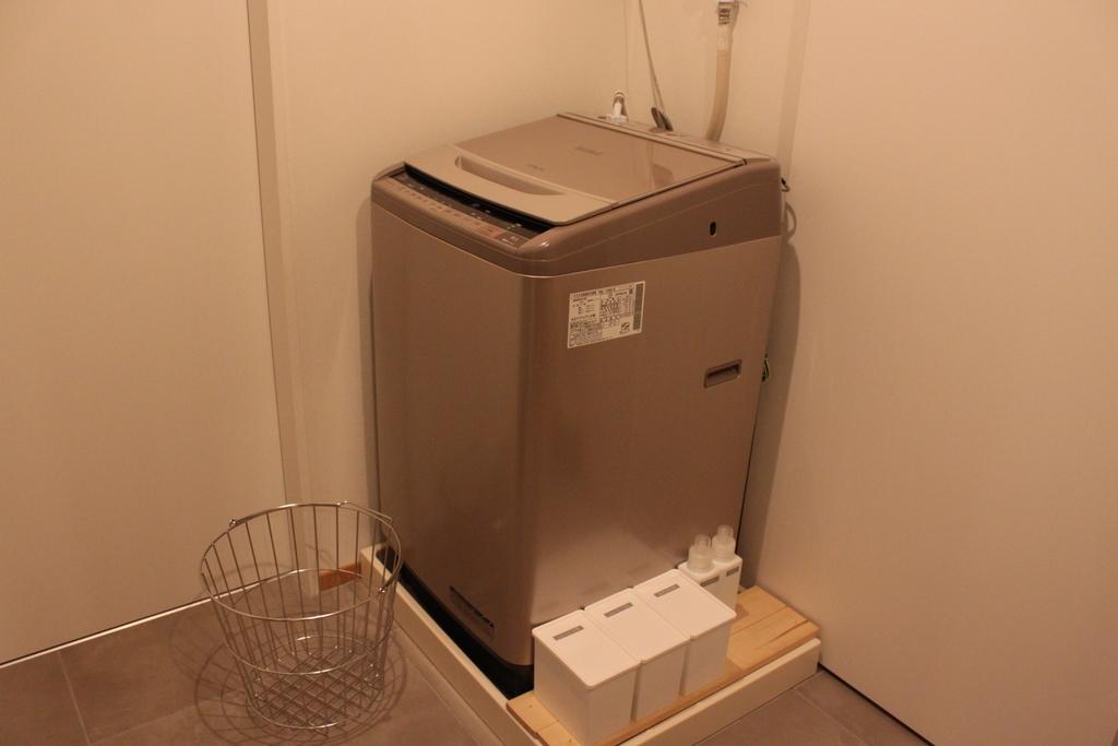 洗濯機周りをシンプルに~粉洗剤ニュービーズ愛用中