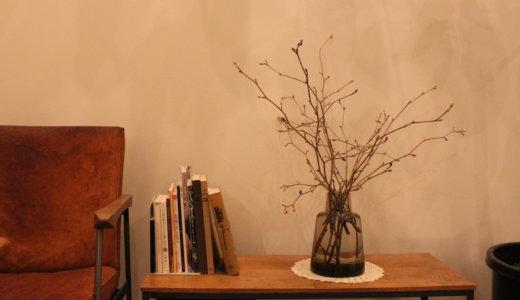 【現在の土間の様子】ホルムガードフローラにトサミズキ【枝物】