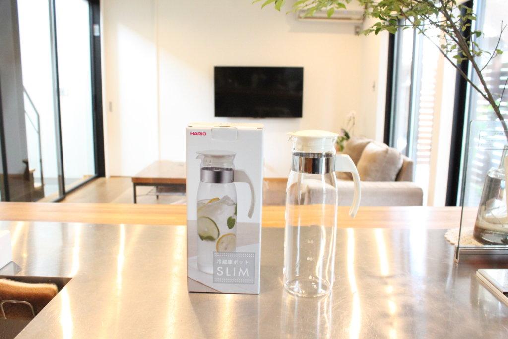 夏の麦茶作りにおすすめ!ガラス製・熱湯OKのHARIO(ハリオ)冷蔵庫ポット〜鉄分入り麦茶の作り方〜