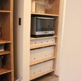 キッチンのパントリー収納棚をDIY!無印良品ファイルボックスの使用実例をご紹介【WEB内覧会】