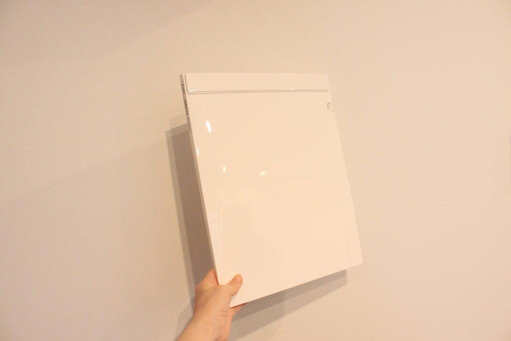 冷蔵庫のプリントをスッキリ!KINGJIMキングジムのHARUFILE(ハルファイル)で書類を整理収納。
