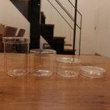 全サイズ買い!DAISO(ダイソー)インテリアガラスケースがKINTO(キントー)シャーレガラスケースそっくり♪